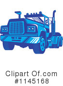 Big Rig Clipart #1145168 by patrimonio