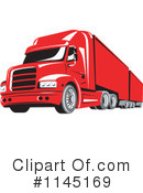 Big Rig Clipart #1145169 by patrimonio