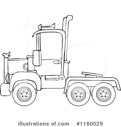 Big Rig Clipart #1160529 by djart