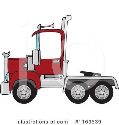 Big Rig Clipart #1160539 by djart