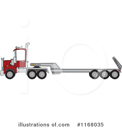 Big Rig Clipart #1168035 by djart