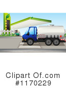 Big Rig Clipart #1170229 by Graphics RF
