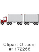 Big Rig Clipart #1172266 by djart