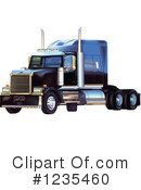 Big Rig Clipart #1235460 by dero