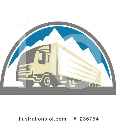 Trailer Clipart #1236754 by patrimonio