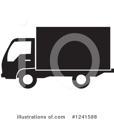 Moving Van Clipart #1241588 by Johnny Sajem