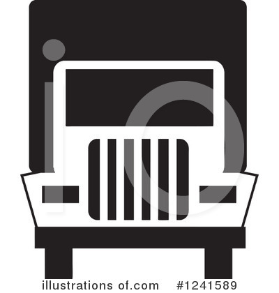Moving Van Clipart #1241589 by Johnny Sajem