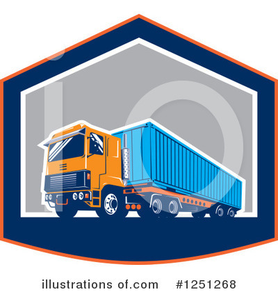 Shipping Clipart #1251268 by patrimonio
