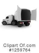 Big Rig Clipart #1259764 by KJ Pargeter