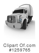Big Rig Clipart #1259765 by KJ Pargeter