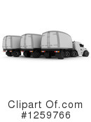 Big Rig Clipart #1259766 by KJ Pargeter