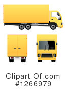 Big Rig Clipart #1266979 by vectorace