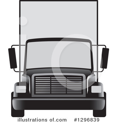 Moving Van Clipart #1296839 by Lal Perera