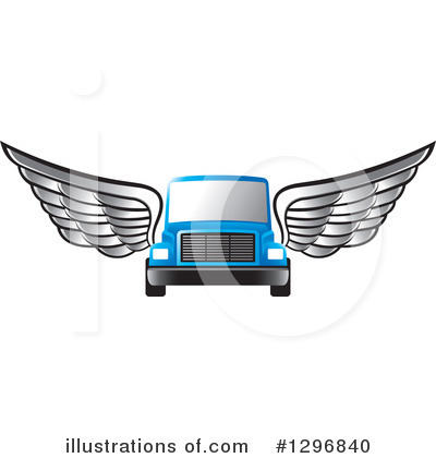 Moving Van Clipart #1296840 by Lal Perera
