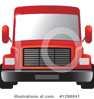 Moving Van Clipart #1296841 by Lal Perera