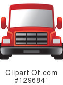 Big Rig Clipart #1296841 by Lal Perera