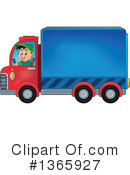 Big Rig Clipart #1365927 by visekart