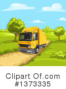 Big Rig Clipart #1373335 by merlinul