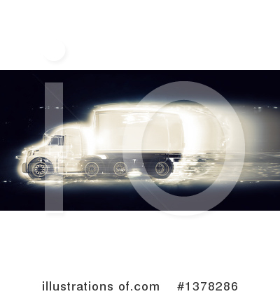 Trucking Clipart #1378286 by KJ Pargeter