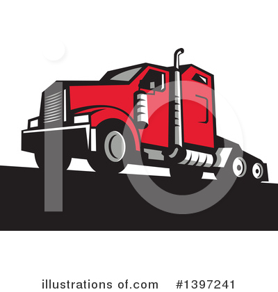 Delivery Clipart #1397241 by patrimonio