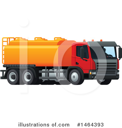 Truck Clipart #1464393 by Vector Tradition SM