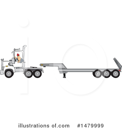 Trucking Industry Clipart #1479999 by djart
