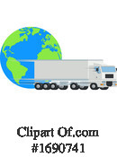 Big Rig Clipart #1690741 by AtStockIllustration