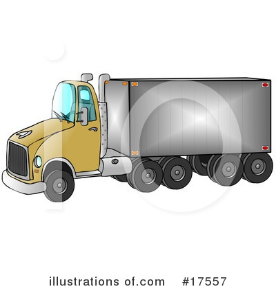 Big Rig Clipart #17557 by djart