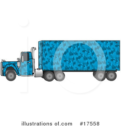 Big Rig Clipart #17558 by djart