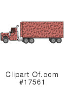 Big Rig Clipart #17561 by djart