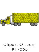 Big Rig Clipart #17563 by djart