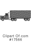 Big Rig Clipart #17566 by djart
