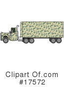Royalty-Free (RF) Big Rig Clipart Illustration #17572