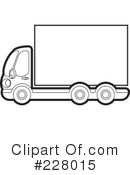 Big Rig Clipart #228015 by Lal Perera