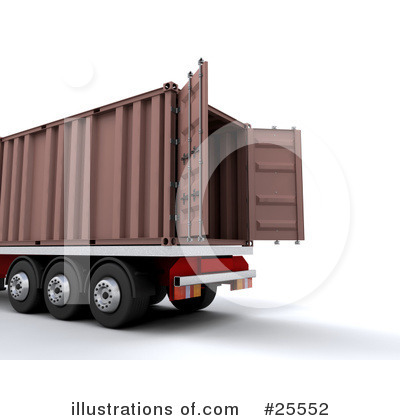 Big Rig Clipart #25552 by KJ Pargeter