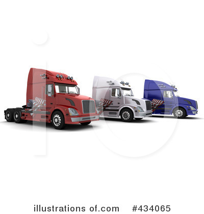 Trucking Clipart #434065 by KJ Pargeter