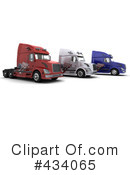 Big Rig Clipart #434065 by KJ Pargeter