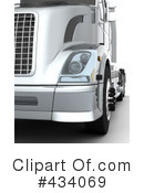 Big Rig Clipart #434069 by KJ Pargeter