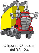 Big Rig Clipart #438124 by toonaday