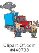 Royalty-Free (RF) Big Rig Clipart Illustration #440738