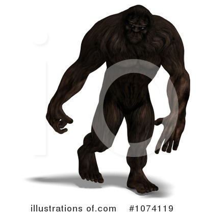 Yeti Clip Art http://www.illustrationsof.com/1074119-royalty-free-bigfoot-clipart-illustration