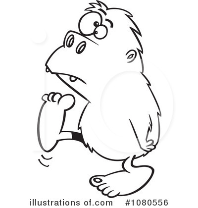 Yeti Clip Art http://www.illustrationsof.com/1080556-royalty-free-bigfoot-clipart-illustration