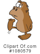 Bigfoot Clipart #1080579 by toonaday