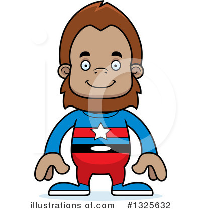 Sasquatch Clipart #1325632 by Cory Thoman