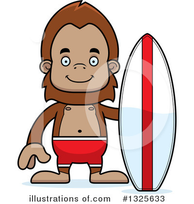 Royalty-Free (RF) Bigfoot Clipart Illustration by Cory Thoman - Stock Sample #1325633