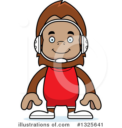 Sasquatch Clipart #1325641 by Cory Thoman
