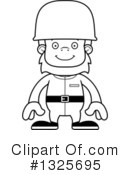 Bigfoot Clipart #1325695 by Cory Thoman