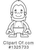 Bigfoot Clipart #1325733 by Cory Thoman