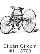 Royalty-Free (RF) bike Clipart Illustration #1113720
