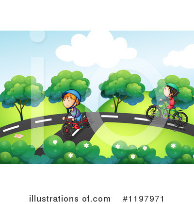 Bicycle Clipart #1197971 by Graphics RF